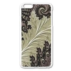 Pattern Decoration Retro Apple Iphone 6 Plus/6s Plus Enamel White Case