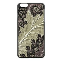 Pattern Decoration Retro Apple Iphone 6 Plus/6s Plus Black Enamel Case