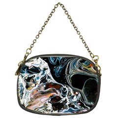 Abstract Flow River Black Chain Purses (one Side)