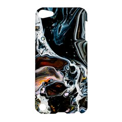 Abstract Flow River Black Apple Ipod Touch 5 Hardshell Case