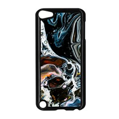 Abstract Flow River Black Apple Ipod Touch 5 Case (black)