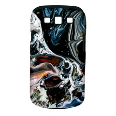 Abstract Flow River Black Samsung Galaxy S Iii Classic Hardshell Case (pc+silicone)