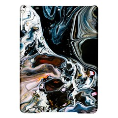 Abstract Flow River Black Ipad Air Hardshell Cases