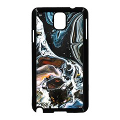 Abstract Flow River Black Samsung Galaxy Note 3 Neo Hardshell Case (black)