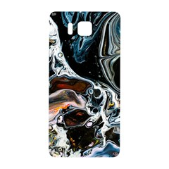 Abstract Flow River Black Samsung Galaxy Alpha Hardshell Back Case