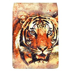 Tiger Portrait Art Abstract Flap Covers (l)
