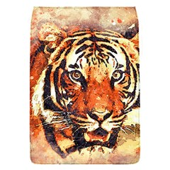 Tiger Portrait Art Abstract Flap Covers (s)