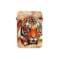 Tiger Portrait Art Abstract Apple Ipad Mini Protective Soft Cases