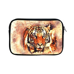 Tiger Portrait Art Abstract Apple Ipad Mini Zipper Cases