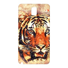 Tiger Portrait Art Abstract Samsung Galaxy Note 3 N9005 Hardshell Back Case