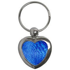 Background Art Abstract Watercolor Key Chains (heart)