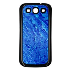 Background Art Abstract Watercolor Samsung Galaxy S3 Back Case (black)