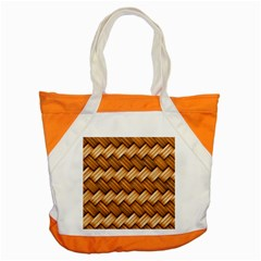 Basket Fibers Basket Texture Braid Accent Tote Bag