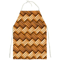 Basket Fibers Basket Texture Braid Full Print Aprons