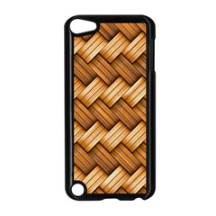 Basket Fibers Basket Texture Braid Apple Ipod Touch 5 Case (black)