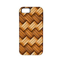 Basket Fibers Basket Texture Braid Apple Iphone 5 Classic Hardshell Case (pc+silicone)