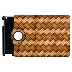 Basket Fibers Basket Texture Braid Apple Ipad 2 Flip 360 Case