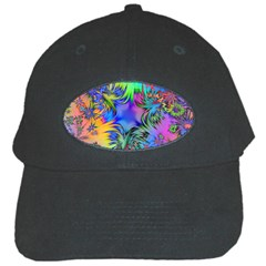 Star Abstract Colorful Fireworks Black Cap
