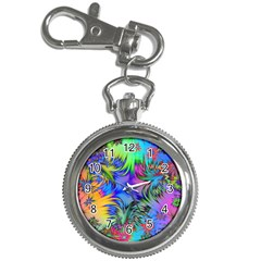 Star Abstract Colorful Fireworks Key Chain Watches