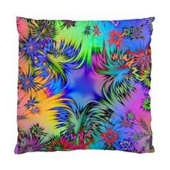 Star Abstract Colorful Fireworks Standard Cushion Case (two Sides)