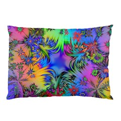 Star Abstract Colorful Fireworks Pillow Case