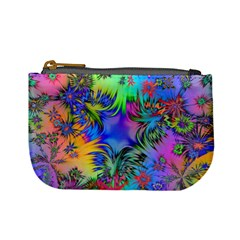 Star Abstract Colorful Fireworks Mini Coin Purses