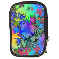 Star Abstract Colorful Fireworks Compact Camera Cases by Nexatart
