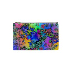 Star Abstract Colorful Fireworks Cosmetic Bag (small)