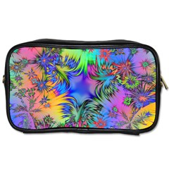 Star Abstract Colorful Fireworks Toiletries Bags