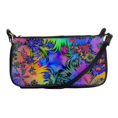 Star Abstract Colorful Fireworks Shoulder Clutch Bags