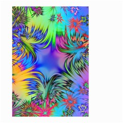 Star Abstract Colorful Fireworks Small Garden Flag (two Sides)