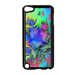 Star Abstract Colorful Fireworks Apple Ipod Touch 5 Case (black)