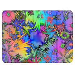 Star Abstract Colorful Fireworks Samsung Galaxy Tab 7  P1000 Flip Case