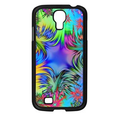 Star Abstract Colorful Fireworks Samsung Galaxy S4 I9500/ I9505 Case (black)