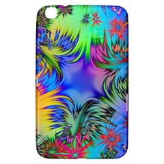 Star Abstract Colorful Fireworks Samsung Galaxy Tab 3 (8 ) T3100 Hardshell Case