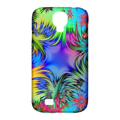 Star Abstract Colorful Fireworks Samsung Galaxy S4 Classic Hardshell Case (pc+silicone)