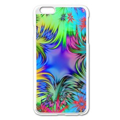 Star Abstract Colorful Fireworks Apple Iphone 6 Plus/6s Plus Enamel White Case
