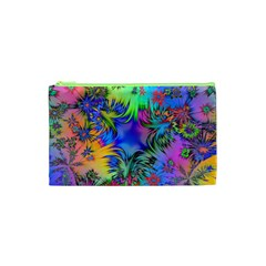 Star Abstract Colorful Fireworks Cosmetic Bag (xs)