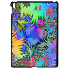 Star Abstract Colorful Fireworks Apple Ipad Pro 9 7   Black Seamless Case