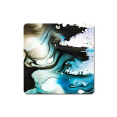 Abstract Painting Background Modern Square Magnet
