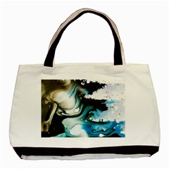 Abstract Painting Background Modern Basic Tote Bag