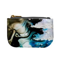 Abstract Painting Background Modern Mini Coin Purses by Nexatart