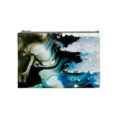 Abstract Painting Background Modern Cosmetic Bag (medium)