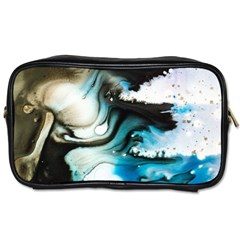 Abstract Painting Background Modern Toiletries Bags by Nexatart