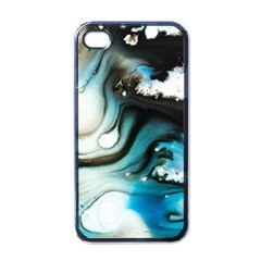 Abstract Painting Background Modern Apple Iphone 4 Case (black)