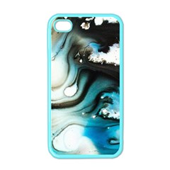 Abstract Painting Background Modern Apple Iphone 4 Case (color)