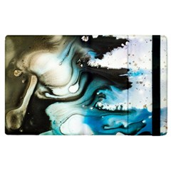 Abstract Painting Background Modern Apple Ipad 2 Flip Case