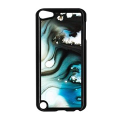 Abstract Painting Background Modern Apple Ipod Touch 5 Case (black)