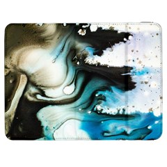 Abstract Painting Background Modern Samsung Galaxy Tab 7  P1000 Flip Case