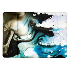 Abstract Painting Background Modern Samsung Galaxy Tab 10 1  P7500 Flip Case